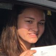 britany dyball pass driving school student