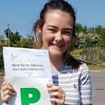 christie thompson pass driving school student
