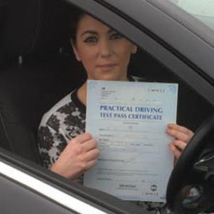 holly white pass driving school student