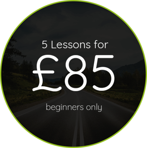pass driving school 5 lessons for 85