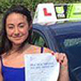 stacey kilshaw pass driving school student